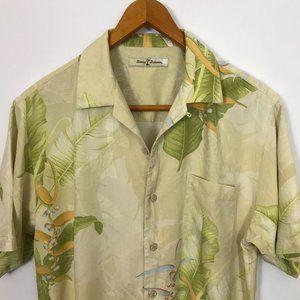 Tommy Bahama Short Sleeve Small Floral Silk